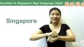 Singapore Sign Language (SgSL) Lesson: Countries