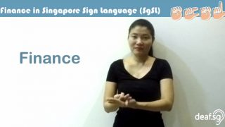 Singapore Sign Language (SgSL) Lesson: Finance-Related Words