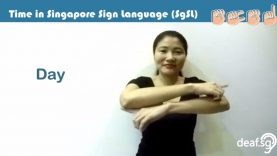 Singapore Sign Language (SgSL) Lesson: Time-Related Words