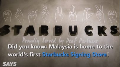 Starbucks Signing Store in Malaysia