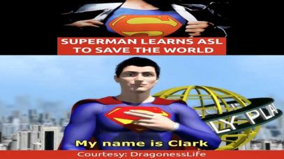 Superman Learns ASL to Save The World
