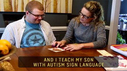 Teach An Autistic Child With Autism Sign Language