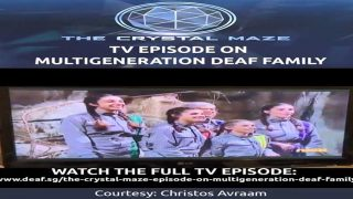 The Crystal Maze TV Episode On Multigeneration Deaf Family