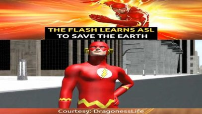 The Flash Learns ASL to Save The Earth