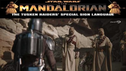 The Mandalorian Season 2: The Tusken Raiders' Sign Language