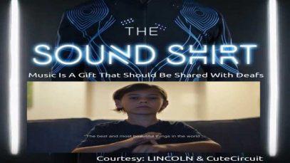 The Sound Shirt Ad for Holiday Season