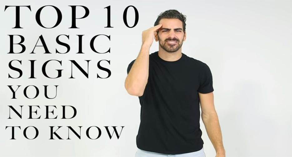 learn top 10 basic sign languages for beginners