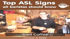 Top American Sign Language (ASL) All Baristas Should Know