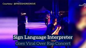 Twista's ASL Interpreter Amber Galloway Gallego Went Viral