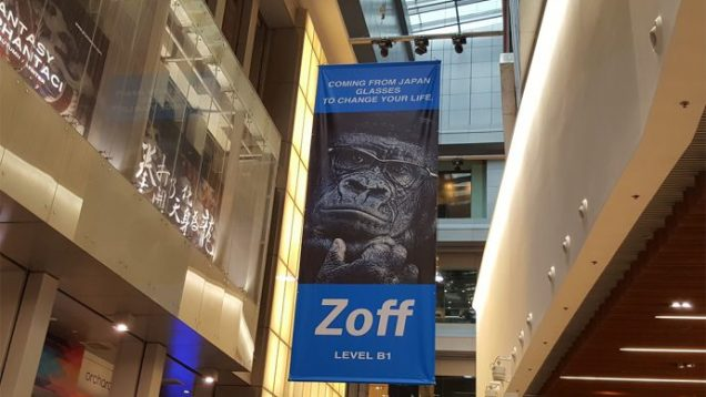 Zoff Shopping Experience in Singapore